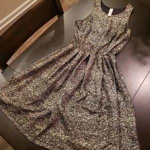 Lovely day gold sparkle dress